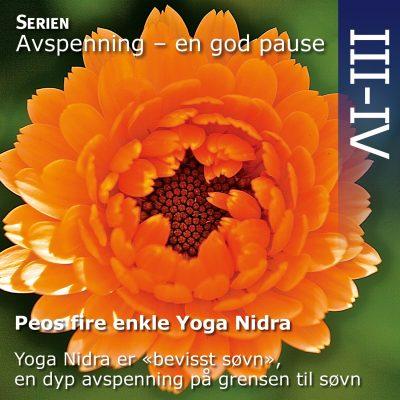 Peos fire enkle Yoga Nidra avspenninger CD - norsk
