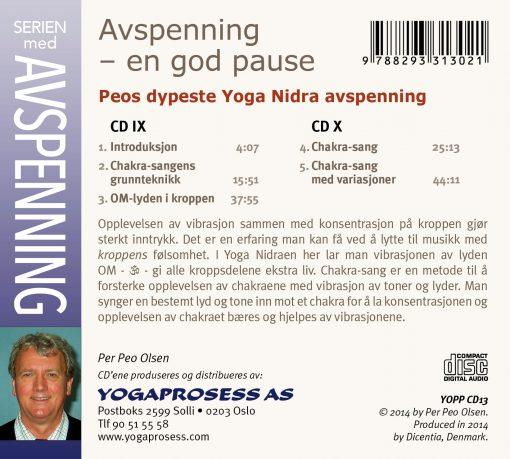 Peos dypeste Yoga Nidra og Chakra sang